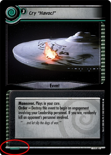 Fractured Time STCCG Decipher 2E Fitting In Lightly Played Star Trek 2E